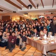 27回生同期会の集合写真