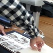 (1)歴代卒業アルバムのスキャン