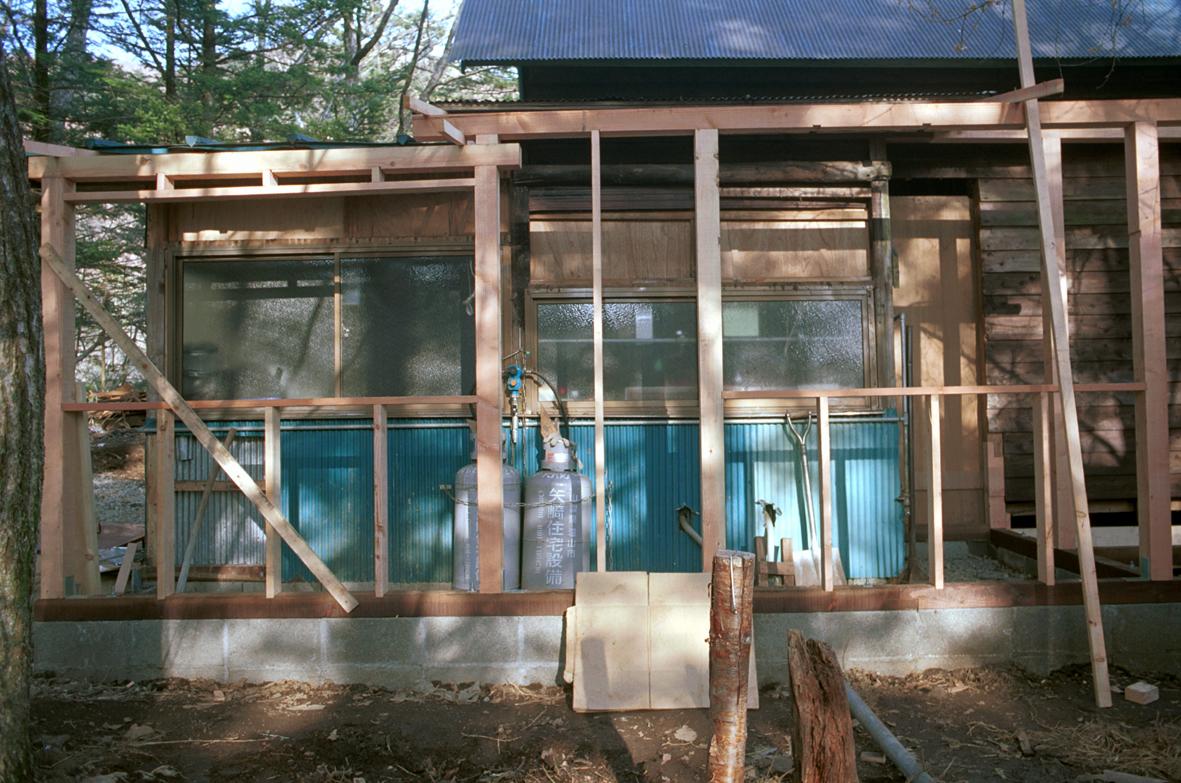 1999年 玄関大改装