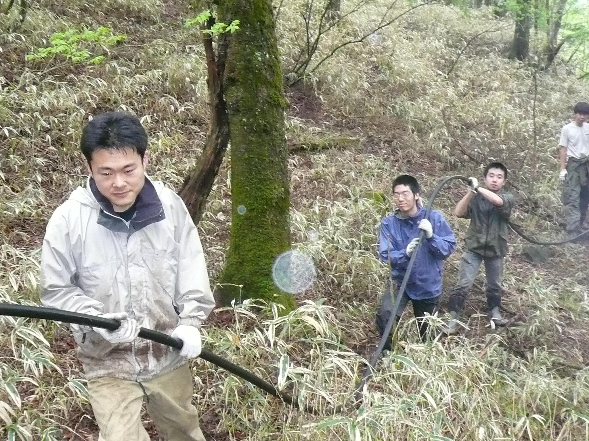 2009年 武蔵上水敷設完了