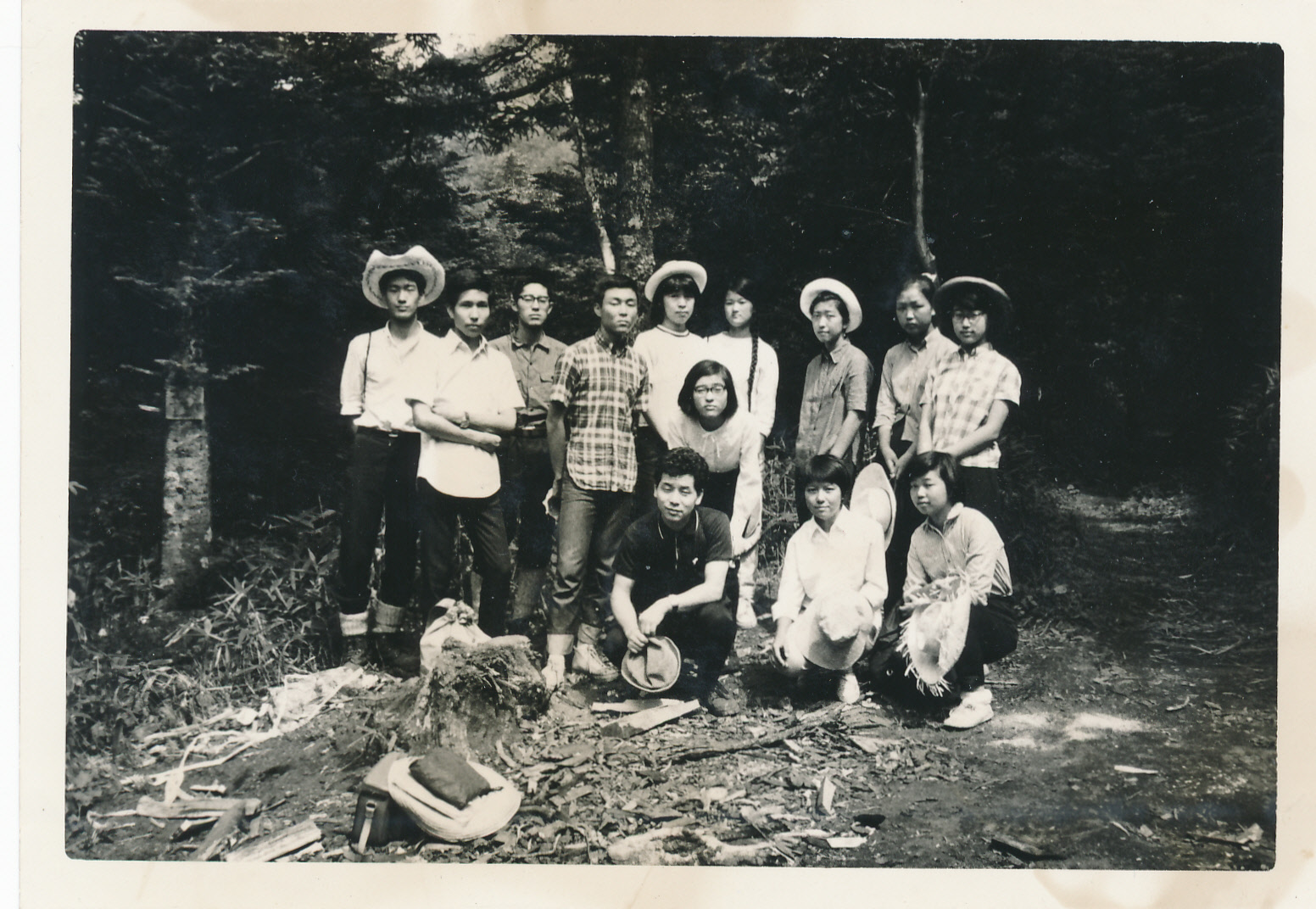 ヒュッテ資料_1967年21G大菩薩合宿