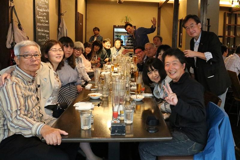 s20170513_miniclub2-003:≪ビール、日本酒、イタリアンに舌鼓。初見参も馴染のメンツも、打ち解け弾む会話。「福生のビール小屋」にて≫